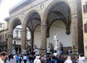 Arkade, Florenz, Skulpturen, Toskana