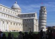 Pisa, scheifer turm, dom, toskana