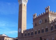 Siena, Italien, Turm