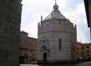 Pistoia, Toskana, Baptisterion